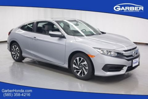 New 2016 Honda Civic LX FWD 2D Coupe