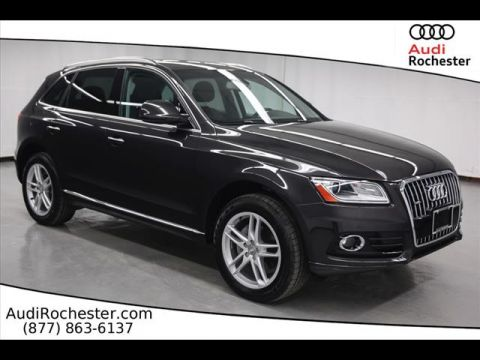 Certified Pre-Owned 2017 Audi Q5 2.0T Quattro Premium Plus All-wheel Drive SUV