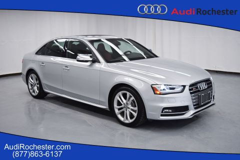 Pre-Owned 2013 Audi S4 3.0T Quattro Premium Plus All Wheel Drive Sedan