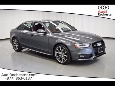 Pre-Owned 2015 Audi S4 3.0T Quattro Premium Plus quattro Sedan