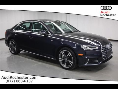 Pre-Owned 2017 Audi A4 2.0T Quattro Premium Plus quattro Sedan