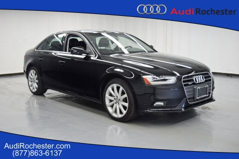 Certified Pre-Owned 2013 Audi A4 2.0T Quattro Premium Plus quattro Sedan
