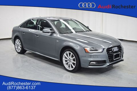 Certified Pre-Owned 2016 Audi A4 2.0T Quattro Premium Plus quattro Sedan