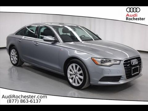 Certified Pre-Owned 2014 Audi A6 3.0T Quattro Premium Plus quattro Sedan