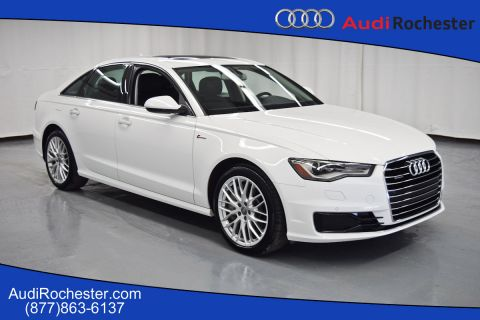 Certified Pre-Owned 2016 Audi A6 3.0T Quattro Premium Plus quattro Sedan