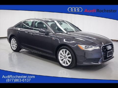Pre-Owned 2013 Audi A6 3.0T Quattro Premium Plus quattro Sedan