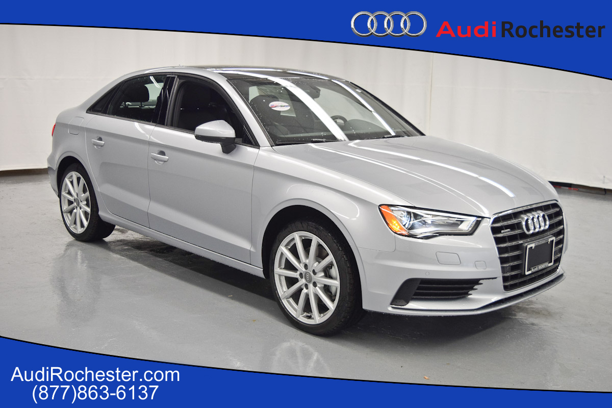 new 2016 audi a3 2 0t premium sedan in rochester g1040024 garber rochester. Black Bedroom Furniture Sets. Home Design Ideas