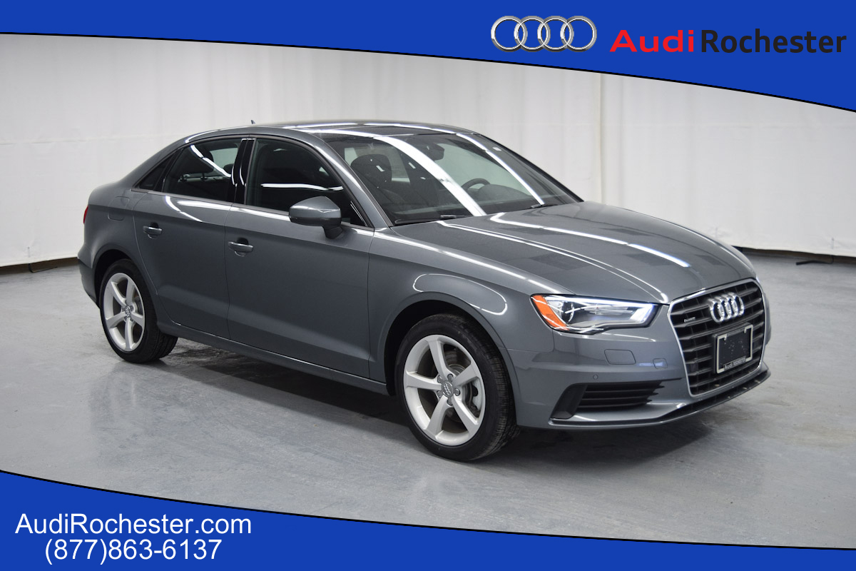 new 2016 audi a3 2 0t premium sedan in rochester g1074196 garber rochester. Black Bedroom Furniture Sets. Home Design Ideas