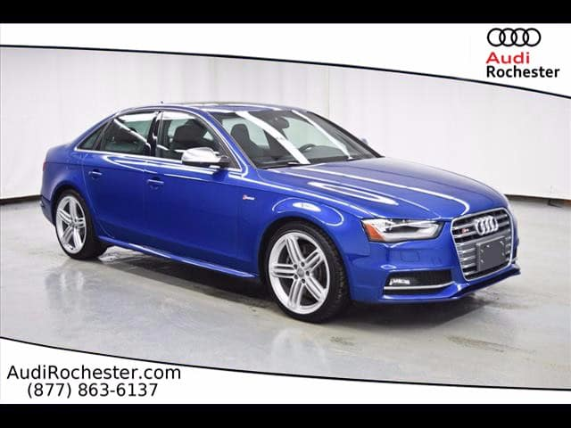 Pre-Owned 2016 Audi S4 3.0T Quattro Premium Plus
