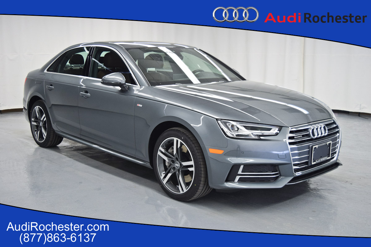 new 2017 audi a4 2 0t premium plus sedan in rochester hn015643 garber rochester. Black Bedroom Furniture Sets. Home Design Ideas