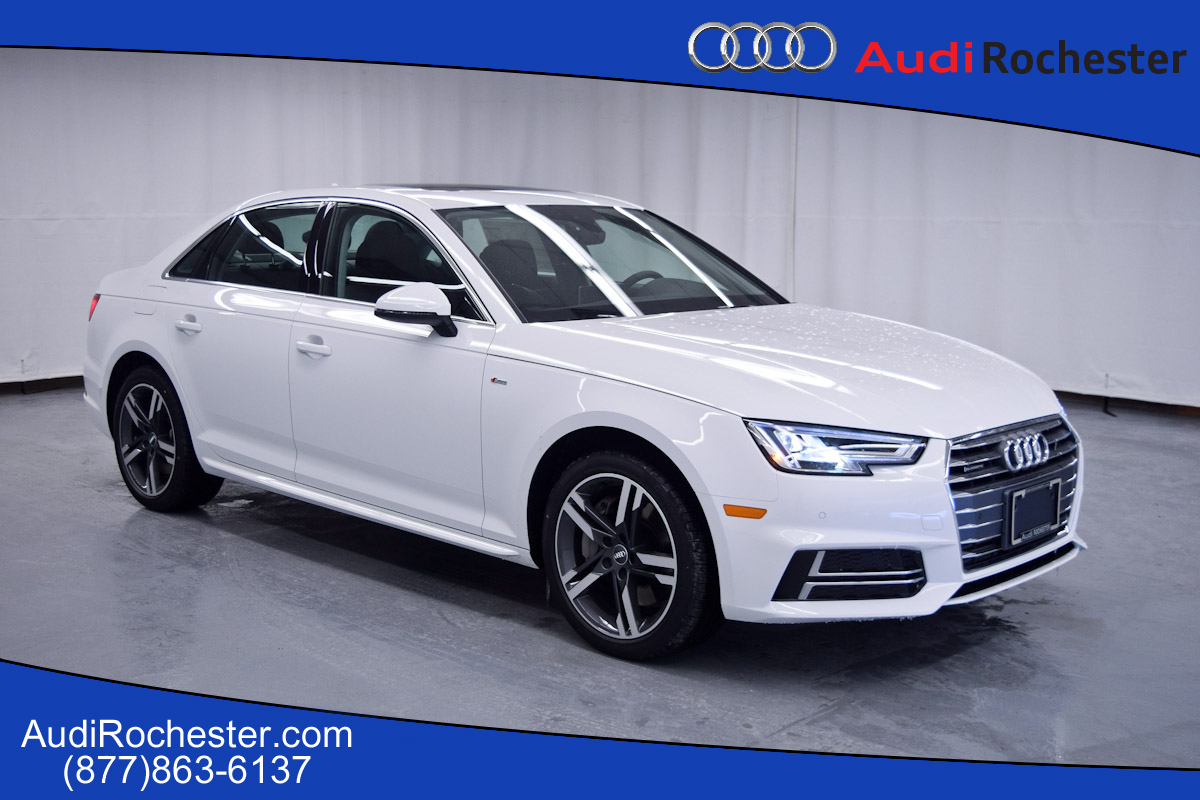 new 2017 audi a4 2 0t premium plus sedan in rochester hn010249 garber rochester. Black Bedroom Furniture Sets. Home Design Ideas