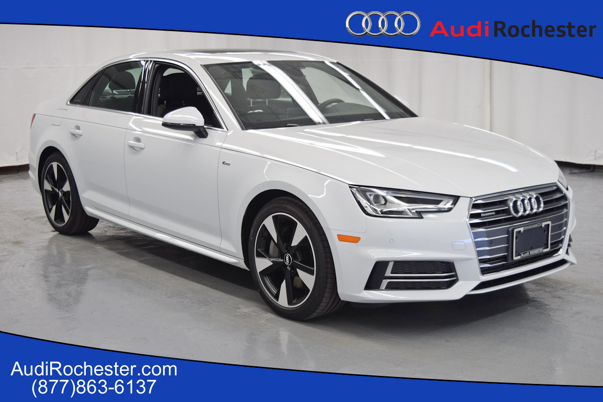new 2017 audi a4 2 0t premium plus sedan in rochester hn012723 garber rochester. Black Bedroom Furniture Sets. Home Design Ideas