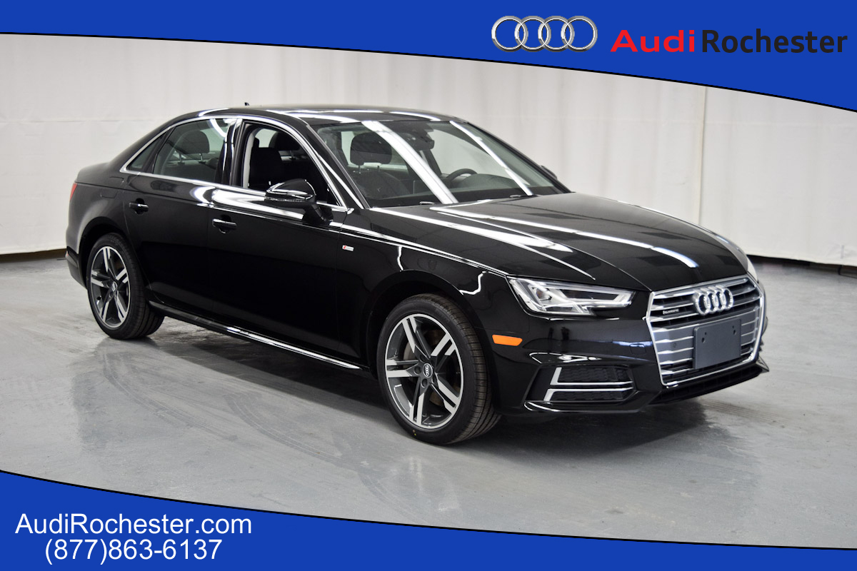 new 2017 audi a4 2 0t premium plus sedan in rochester hn010706 garber rochester. Black Bedroom Furniture Sets. Home Design Ideas