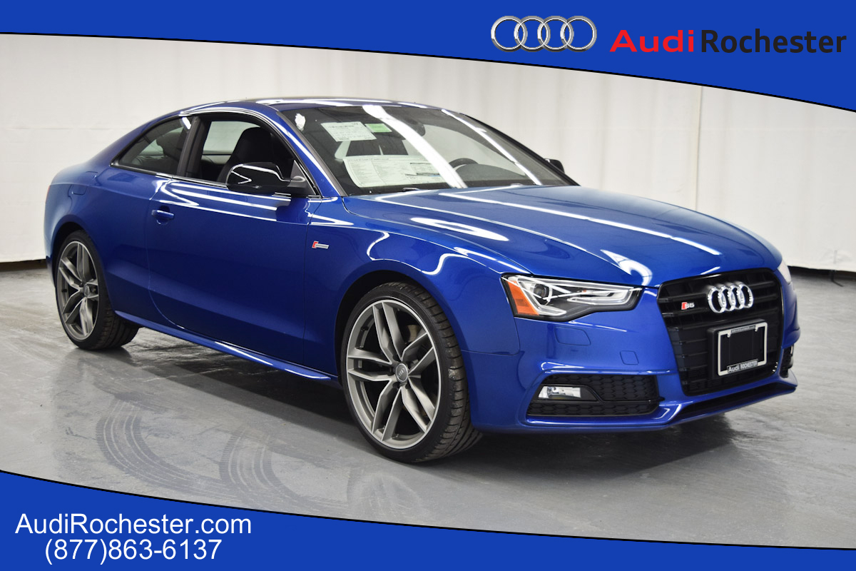 new 2016 audi s5 3 0t premium plus coupe in rochester. Black Bedroom Furniture Sets. Home Design Ideas