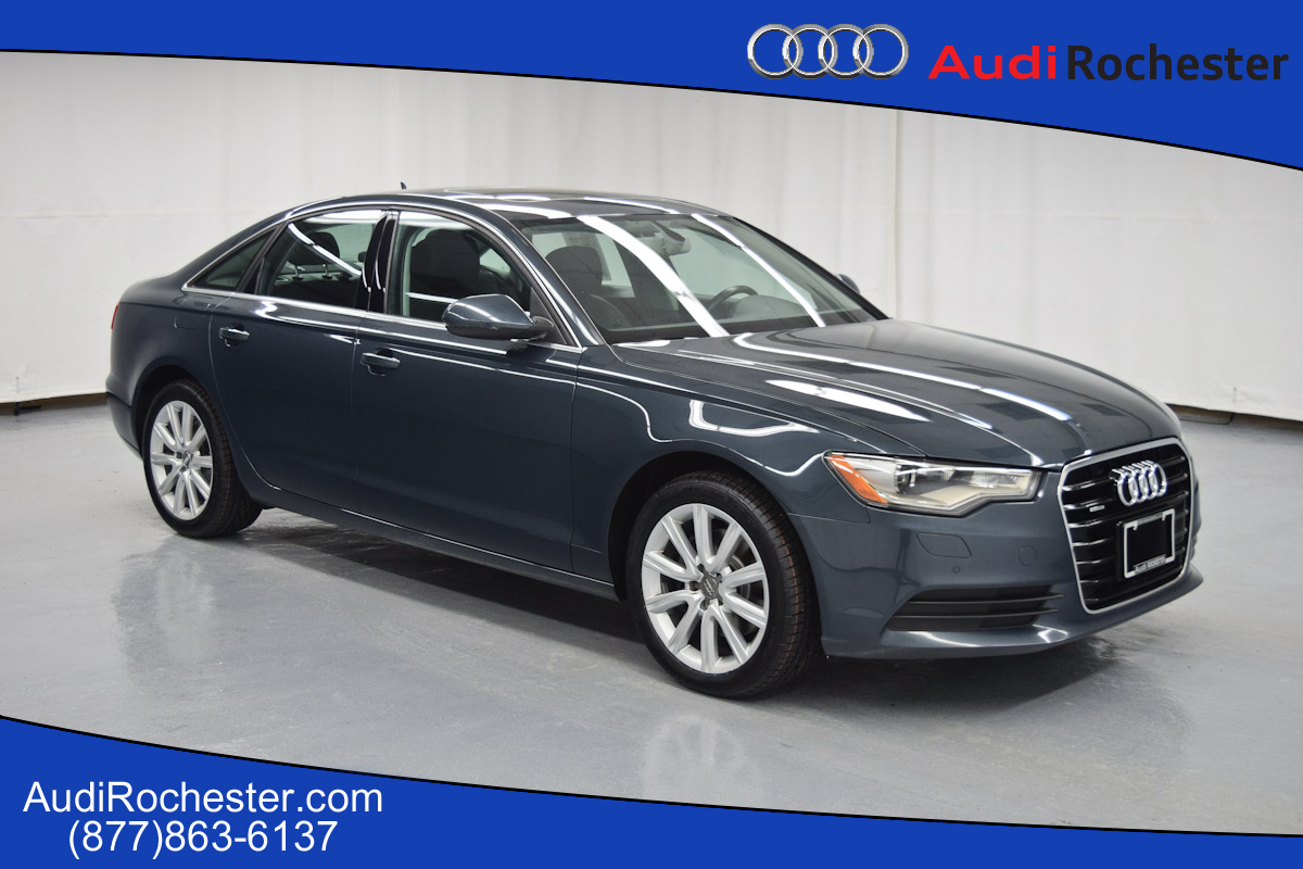 Certified Pre Owned 2013 Audi A6 2 0t Quattro Premium Plus
