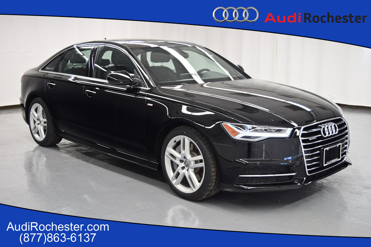 new 2016 audi a6 2 0t premium plus sedan in rochester gn099081 garber rochester. Black Bedroom Furniture Sets. Home Design Ideas