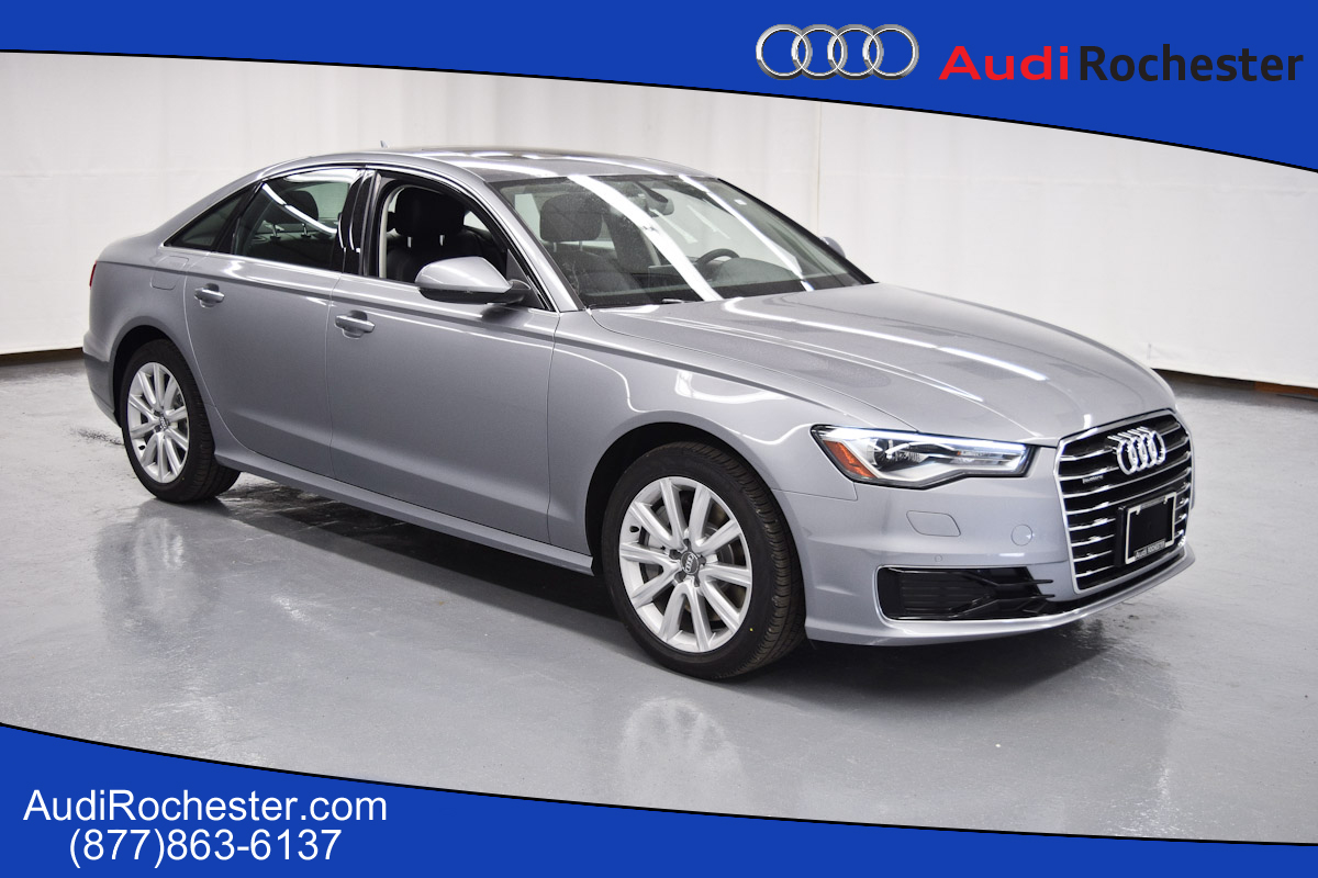new 2016 audi a6 2 0t premium plus sedan in rochester gn109294 garber rochester. Black Bedroom Furniture Sets. Home Design Ideas