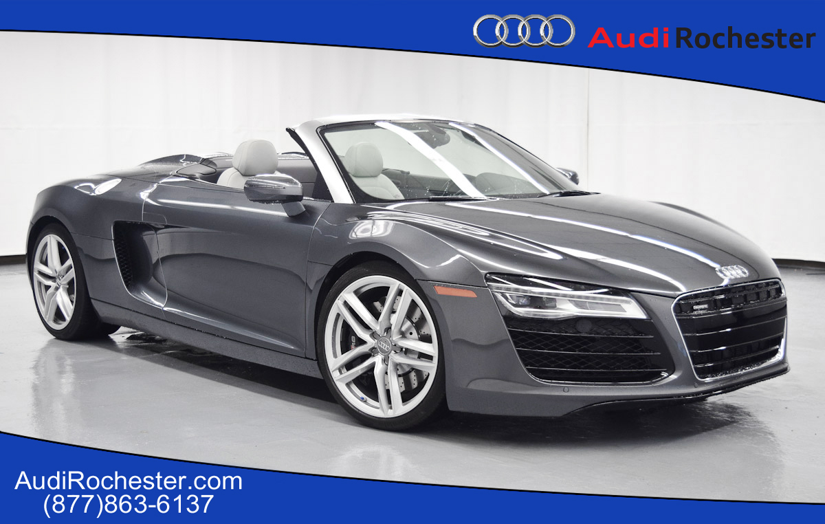 audi r8 pre owned 2014 audi r8 4 2 quattro spyder quattro convertible. Cars Review. Best American Auto & Cars Review
